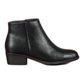 Filippo Classic Black Ankle Boots