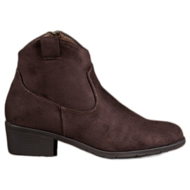 Filippo brown Suede Cowboy boots