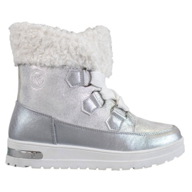 Grey Warm snow boots from MCKEYLOR