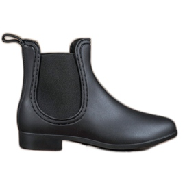 SHELOVET black Matt Wellies
