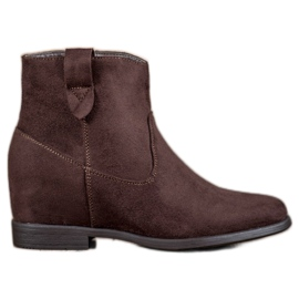 Filippo Boots With A Hidden Wedge brown