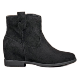 Filippo black Boots With A Hidden Wedge