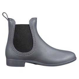 SHELOVET grey Slip-on wellies