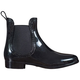 SHELOVET black Women's rain boots