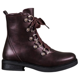 SHELOVET Lace-up boots