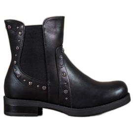 Bestelle black Slip-on Ankle Boots