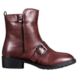 Groto Gogo red High Burgundy Boots