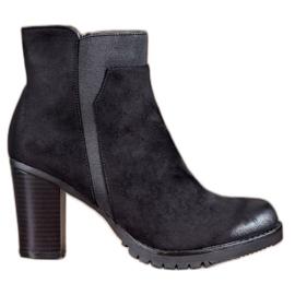 S. BARSKI Black Women Boots