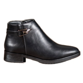 JESSI Black Boots With Ornament
