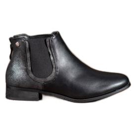 Cm Paris Classic Black Jodhpur boots