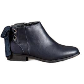 Cm Paris blue Navy Boots