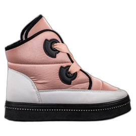 Weide Pink Snow Boots