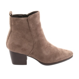Taupe Filippo 922 suede boots brown