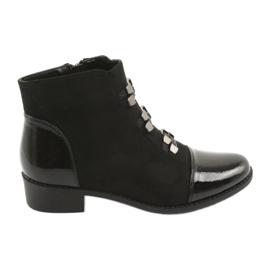Daszyński Black Jodhpur boots