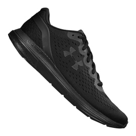 Under Armour black Under Armor Charged Impulse M 3021950-003 shoes