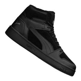 Puma Rebound LayUp Sd Fur M 369831-01 shoes black