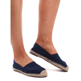 Espadrilles F169-6 Blue Sandals