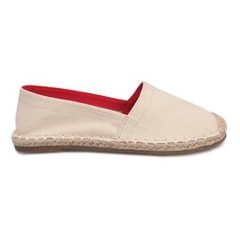 Espadrilles F169-6 Beige sandals brown