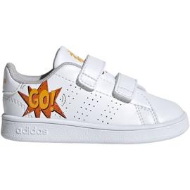 Adidas Advantage I Jr EF0305 shoes white