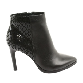 Black Espinto ankle boots