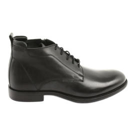 Winter boots Jodhpur badura 4775 black
