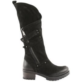 Badura women's boots black