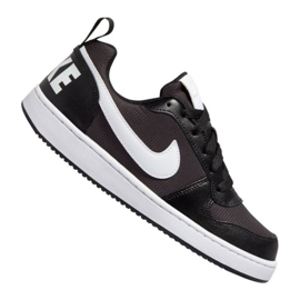 Nike Court Borough Low Pe (GS) Jr BQ7566-002 shoes black black