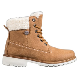 McKey Trappers With sheepskin brown