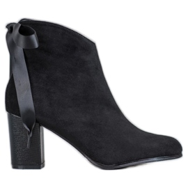 Filippo Stylish Black Ankle Boots