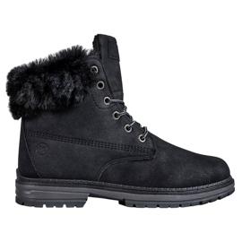 MCKEYLOR brocade boots black