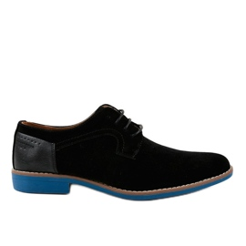 Black elegant shoes H-32