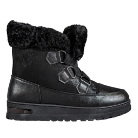 Warm snow boots from MCKEYLOR black