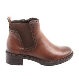 Boots Jodhpur Boots Zipper Filippo 957 brown