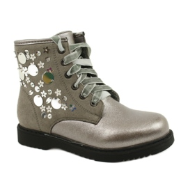 Boots varnished sequins Evento 1433