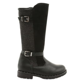 Evento 1501 girls boots in black