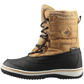 Winter shoes 4F Jr HJZ19-JOBMA001 71S beige black