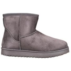 SHELOVET Gray Mukluki grey