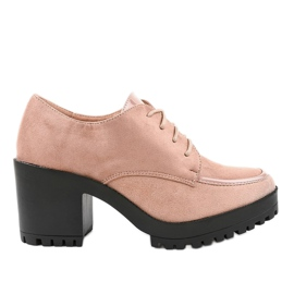 Pink boots on a solid HQ651 post