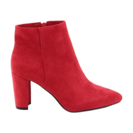 Boots on the post Sergio Leone 548 red