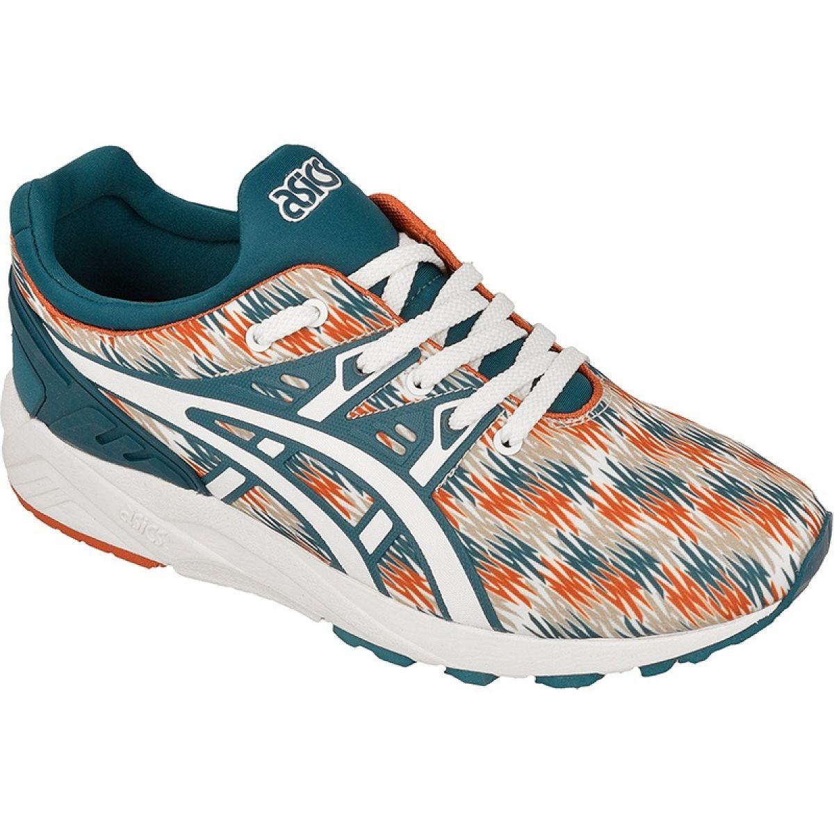 asics multi coloured trainers