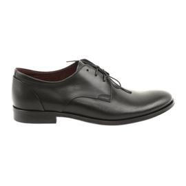Leather shoes Pilpol 1609 black