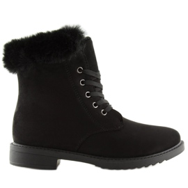 Black insulated boots MP-37 Black