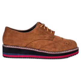 Vices Camel shoes brown
