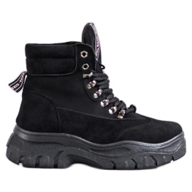 Boots on the VICES Platform black