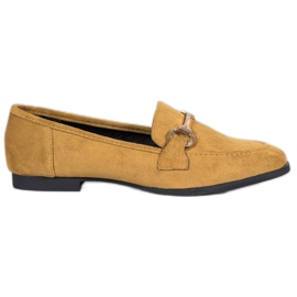 VICES suede moccasins yellow