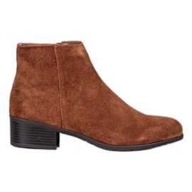 Filippo Classic Leather Boots brown