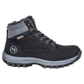 Warm MCKEYLOR hiking boots black