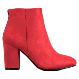 VINCEZA Sexy Boots red