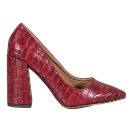 Red VICES Pumps