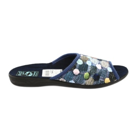 Slippers flip flops 3D Adanex navy blue